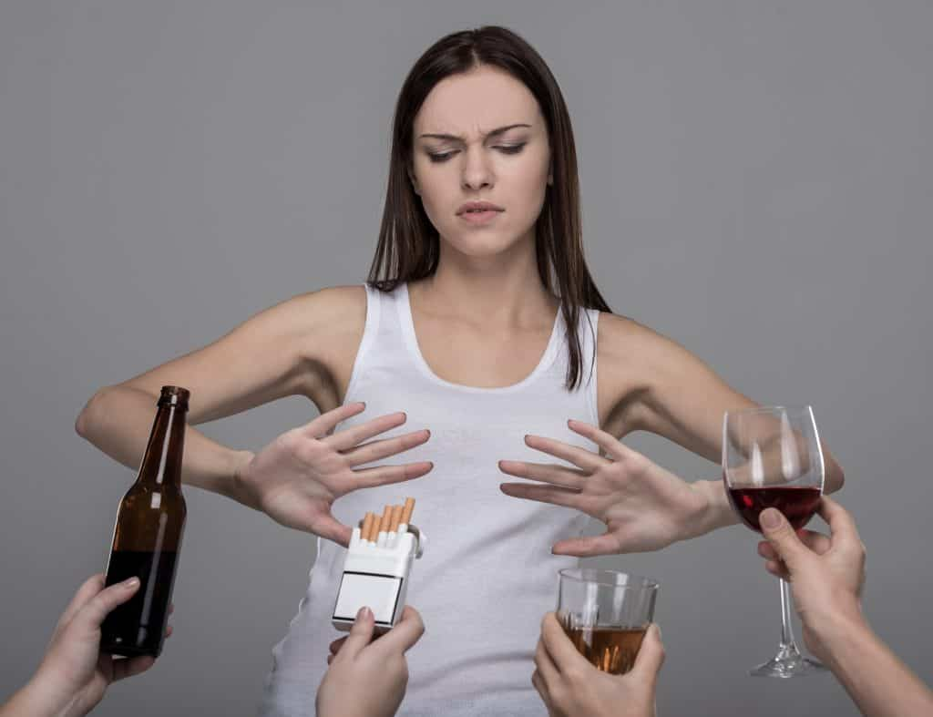 Eliminate Smoking and Minimize Alcohol Intake