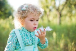 Feather Breathing Games For Kids